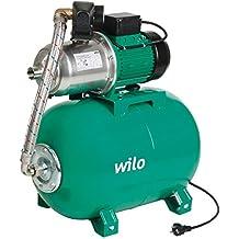 Wilo - Pompe eau froide - distribution d'eau - Surpresseur domestique MONO WILO-MULT HMC 304-Réservoir 50L-Eau Claire