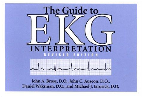 Download Book The Guide To Ekg Interpretation White Coat Pocket