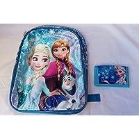 Zainetto satin Frozen + portafoglio satin