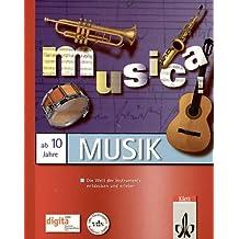 musica!, 1 CD-ROM Die Welt der Instrumente entdecken und erleben. Für Windows 95/98 oder MacOS System 7