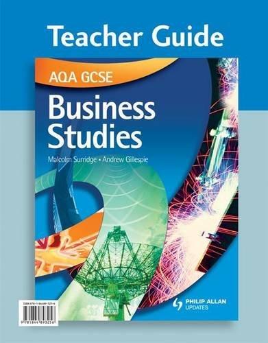 AQA GCSE Business Studies: Teacher Guide by Malcolm Surridge (2009-08-28)