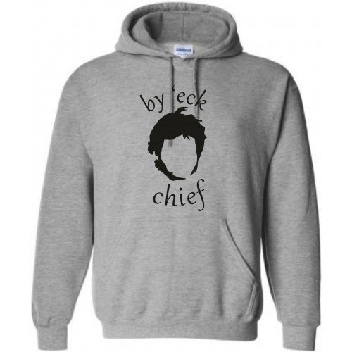 Kids Guy Martin - By 'eck Chief Hoodie, Ages 5-15, Various colours .