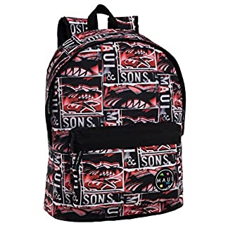 5149bXDwx5L. SS324  - Maui and Sons Maui Shark Mochila Adaptable a Carro, 21 Lt, Color Rojo
