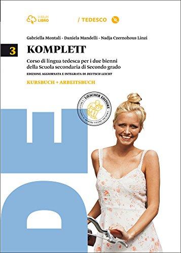 Komplett. Kursbuch-Arbeitsbuch-ZD B1 neu. Per le Scuole superiori. Con CD-ROM. Con e-book. Con espansione online: 3