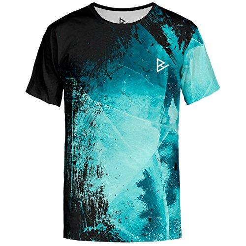 Herren Ice (Blowhammer T-Shirt Herren - Dark Ice TS - L)