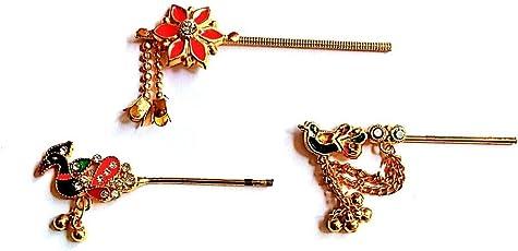 Laddu Gopal Bansuri Peacock Design Metal Look Small Size kanha ji
