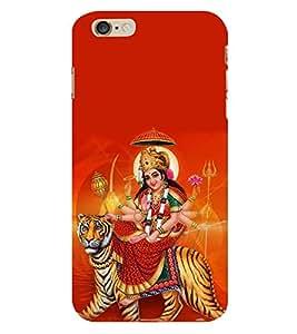 PrintVisa Designer Back Case Cover for Apple iPhone 6S (Maa Durga Devi Tribhuvaneshwari Papadharani Kumari Chaturbhuja Patradharini Dhanurdharini)