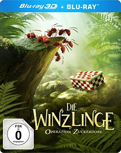 Die Winzlinge - Operation Zuckerdose - 3D Blu-ray Disc + 2D Blu-ray, inkl. Forscher Lupe und Magneten (exklusiv bei Amazon.de) [Limited Edition]
