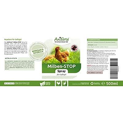 AniForte® Milben - Stop Spray 500 ml - Naturprodukt für Geflügel von Görges Naturprodukte GmbH - Du und dein Garten