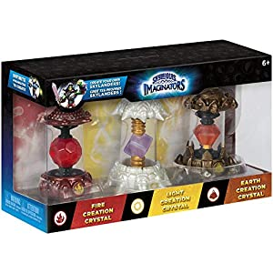 Skylanders Imaginators – Crystals 3er Pack (Earth, Light, Fire)