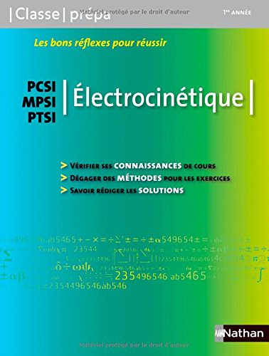 Electrocinétique PCSI / MPSI / PTSI - 1ère année