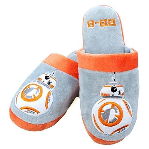 Bb8 Star Wars - Star Wars BB-8 Adult Mule Slippers Size