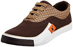 Sparx Mens Camel Sneakers - 7 UK/India (40.67 EU) (SC0198G)