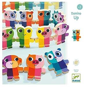 Djeco Juego Educativo Domino Up (31641), Multicolor (1)