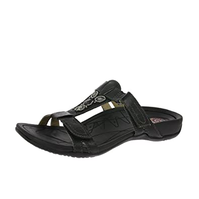 43008aa1f Earth Spirit Fargo - Black (Leather) Womens Sandals 3 UK  Amazon.co.uk   Shoes   Bags
