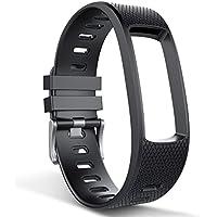endubro Cinturino per fitness tracker i3HR & i7HR | i6HR | i6HR C & molti altri modelli realizzato in TPU Skin-friendly con chiusura antiallergica