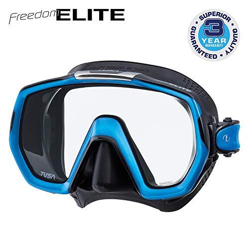 Tusa Freedom Elite - Maske M-1003, Fishtail Blue/Black