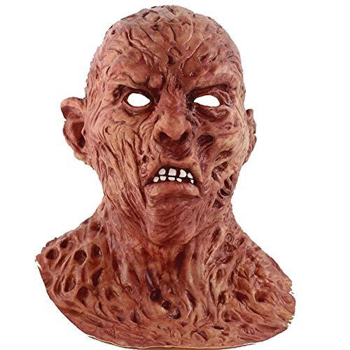 Kostüm Jason Hunde - ZYJ Neue N Frady Masken Zombie Dead Head Set Halloween Horror Biochemie Zombie Jason Ghost Mask Requisiten