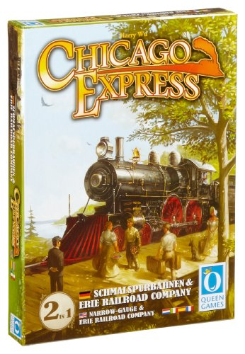 Chicago Express - Erw. Schmalspurbahnen & Erie Railroad Company: Spieldauer: 60 Min, für 2-6 Spieler