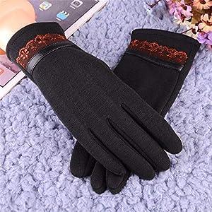 Warme Handschuhe: Frauen Nicht SAMT Tragen Handschuhe.Kaschmir An Den Bildschirm Zu Spielen, Süß Und SAMT Warme Handschuhe.