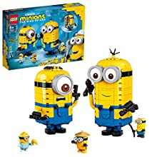LEGO 75551 Minions Brick-Built Minions and Their Lair Display Models with Stuart, Kevin & Bob Figures