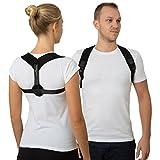 Geradehalter zur Haltungskorrektur für Frauen und Männer – Haltungstrainer zur Unterstützung für den oberen Rücken – gegen Nacken- und Schulterschmerzen