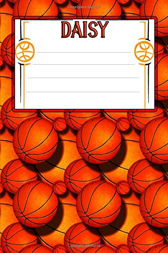 Basketball Life Daisy: College Ruled | Composition Book
