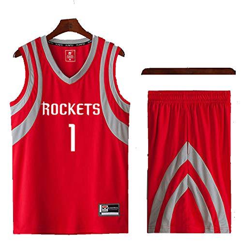 wholesale dealer 312c8 5c560 Tracy McGrady, TMac-Chris Paul # 1# 3 Houston Rockets Rote  Basketball-Trikots-XXXL, 90S Hip Hop Kleidung für Party, Buchstaben und  Zahlen-6-XL