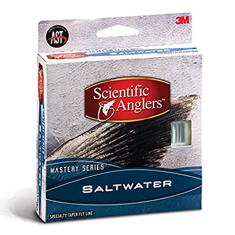 Scientific Anglers Mastery Saltwater, Pale Yellow/Horizon WF-12-F