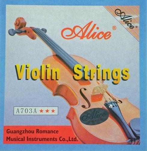 Alice Stahlsaiten Violinensaiten für Violine & Geige Test