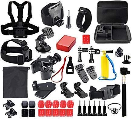 aiposen 41-in-1Outdoor Sport Kamera Zubehör Bundle Kit für GoPro Kamera, SJ Cam, und Xiao Mi Yi Kamera -