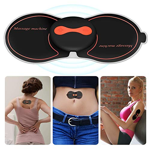 Price comparison product image RXRENXIA Electronic Muscle Stimulator Machine, Wireless Tens Machine,  TENS Mini Massager Muscle Stimulator Effective for Back Neck Sciatica Arthritis Pain Management Muscle Relief