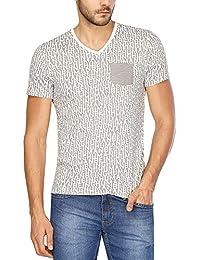 Being Human Mens Short Sleeves V Neck T-shirts