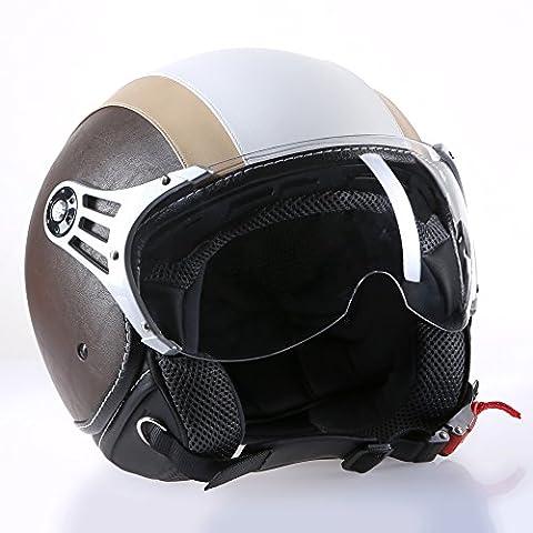 'Casque Moto Casque Jet Roller Casque cmx