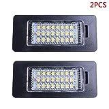 Pinzhi 2 stücke 24 LED Fehlerfrei Nummernschild Licht Für BMW E81 E82 E90 E91 E92 E93 E60 E61 E39