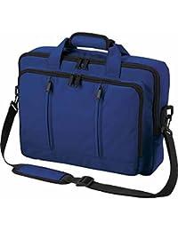 Halfar - Sac sacoche bandoulière transformable sac à dos - 1802765 - bleu roi - pour ordinateur portable jusqu'à 15-16 pouces