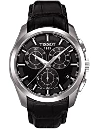 Tissot Herren-Armbanduhr Couturier Chronograph Quarz T0356171605100