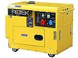 Rotek Schallgedämmter Diesel Stromerzeuger GD4SS-3-6000-EBZ (6,0 kVA / 5,0kW 400V 50Hz 3-phasig)