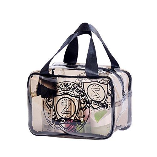 Boîte de rangement cosmétique sac cosmétique cosmétiques plein air voyage mode bain organisateur de maquillage maquillage collection pinceau de maquillage na porte-rouge à lèvres sac portable imperméable femme stockage de produits de baignade-I