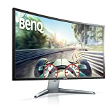 BenQ EX3200R (31.5 inch) 144hz Full HD VA Panel LED Backlit Monitor with Display Port, HDMI, Free sync AMD Gaming Mode & Cinema Mode