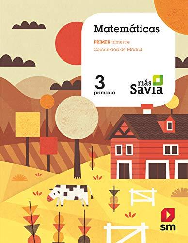 Matemáticas 3 Primaria Más Savia Madrid