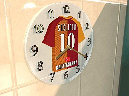 sportoto Türkei Süper Lig–Türkisch Football Shirt Wanduhren–Jeder Name, beliebige, jedes Team, kostenlose...