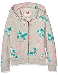 Unbekannt Mädchen Sweatshirt Zip Sweater Flamingo