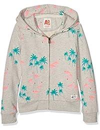 AO 76 Zip Flamingo, Sweat-Shirt àCapuche Fille