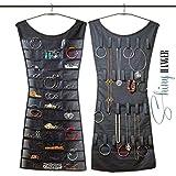 Vestito portagioielli organizer abito doubleface collane anelli e orecchini multitasche organizzatore accessori trendy dress