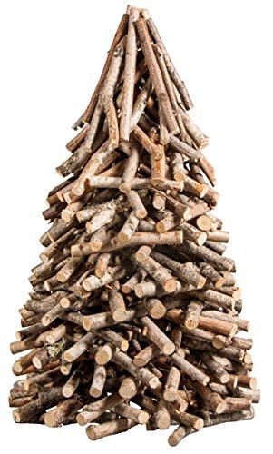 Rayher 65202000 albero di legno natale naturale