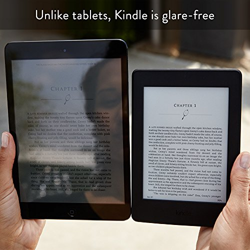 Kindle Paperwhite E-reader, 6″ High-Resolution Display (300 ppi) with Built-in Light, Wi-Fi (Black) – Includes Special Offers