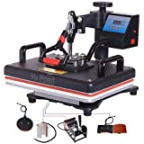 MY PRINT | Heat Press 5 in 1 Digital Multi Functional Sublimation, Vinyl Printing Machine for T-Shirts (Any Flat Product), Mu