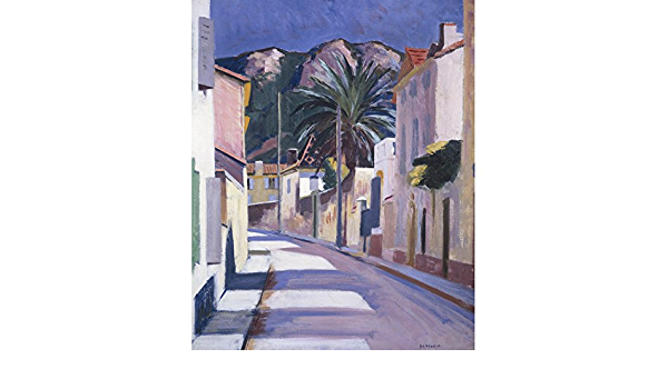 F C B Cadell Print Road to the Hills Cassis