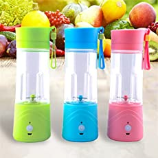 Diswa Rechargeable Leakproof Electric Protein Shaker with USB Cable and Cup-Automatic Movement